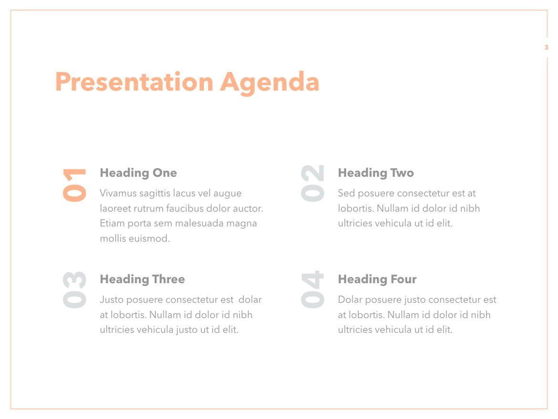 Peachy PowerPoint Template, Slide 4, 05795, Presentation Templates — PoweredTemplate.com