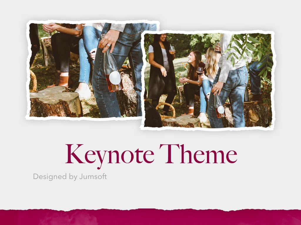 Red Wine Keynote Template, Slide 14, 05797, Presentation Templates — PoweredTemplate.com