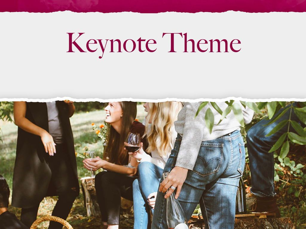 Red Wine Keynote Template, Slide 15, 05797, Presentation Templates — PoweredTemplate.com