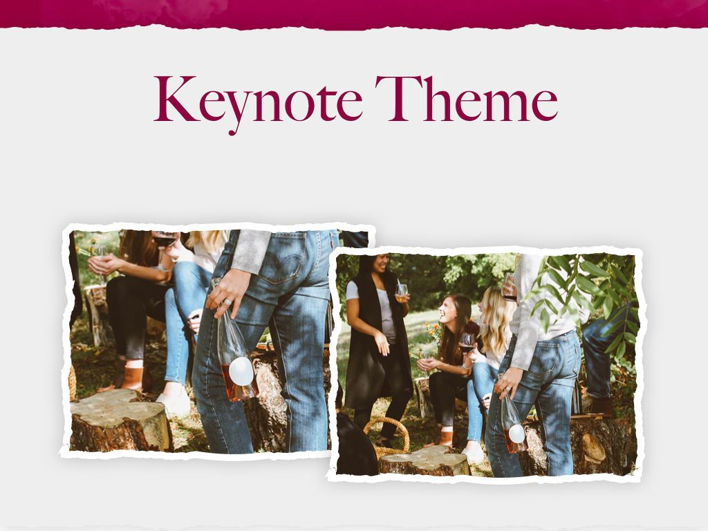 Red Wine Keynote Template, Slide 16, 05797, Presentation Templates — PoweredTemplate.com
