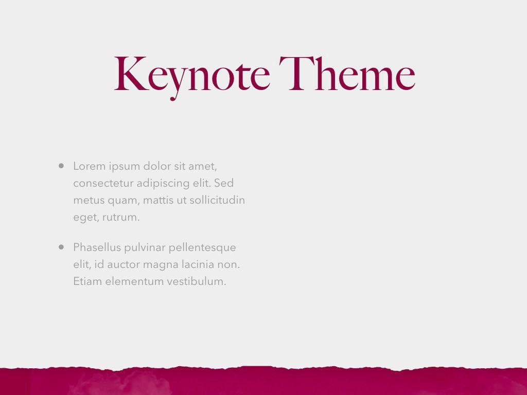 Red Wine Keynote Template, Slide 32, 05797, Presentation Templates — PoweredTemplate.com