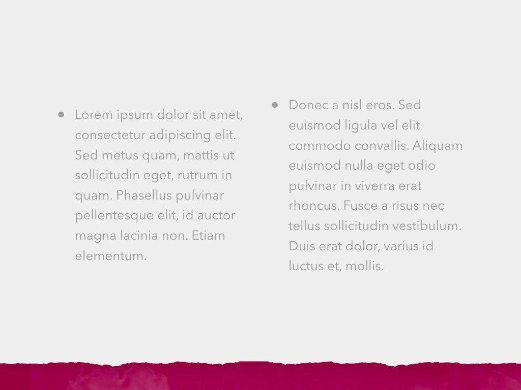 Red Wine Keynote Template, Slide 7, 05797, Presentation Templates — PoweredTemplate.com