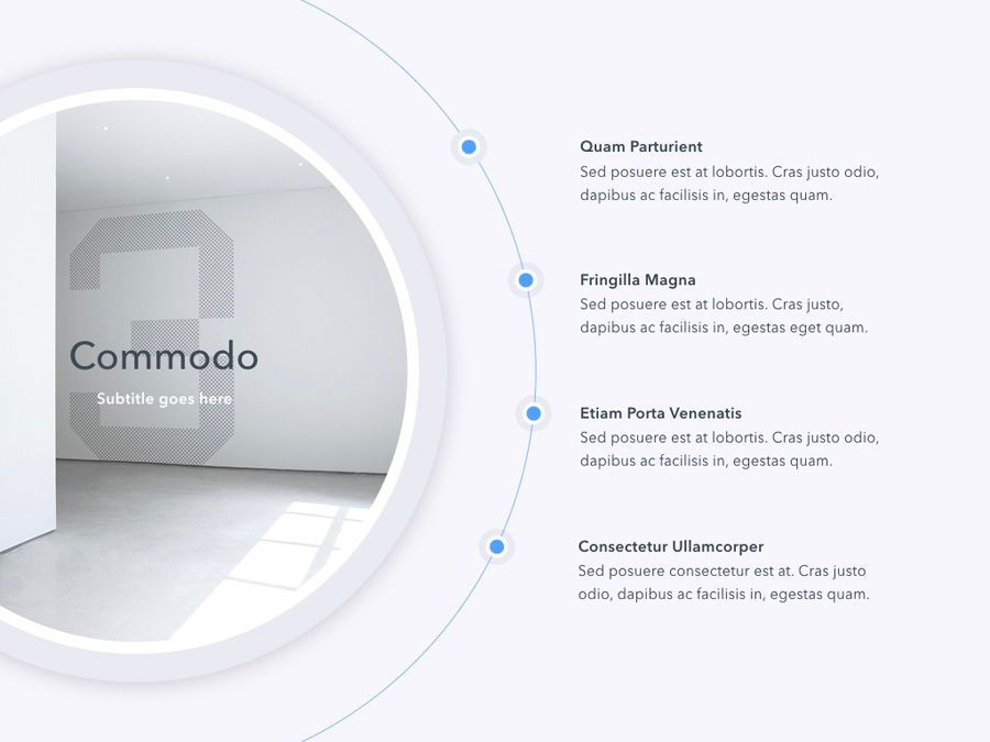 Refreshing Blue PowerPoint Template, Slide 10, 05798, Presentation Templates — PoweredTemplate.com