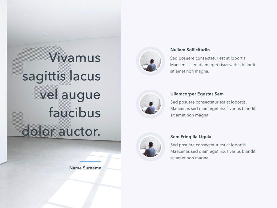 Refreshing Blue PowerPoint Template, Slide 11, 05798, Presentation Templates — PoweredTemplate.com