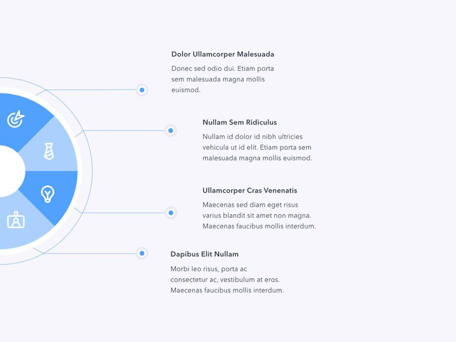 Refreshing Blue PowerPoint Template, Slide 14, 05798, Presentation Templates — PoweredTemplate.com