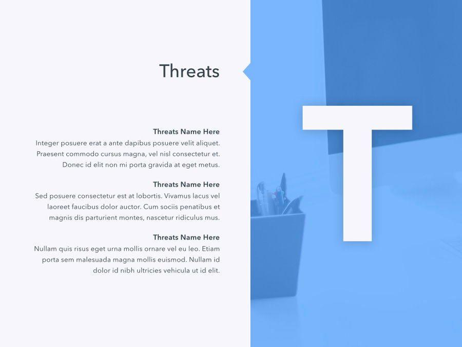 Refreshing Blue PowerPoint Template, Slide 19, 05798, Presentation Templates — PoweredTemplate.com