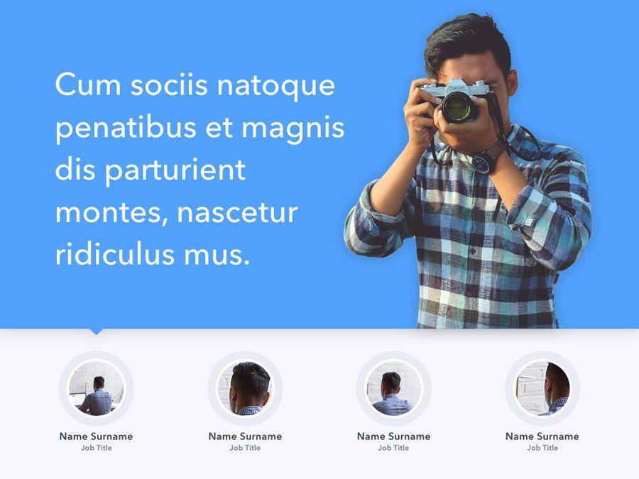 Refreshing Blue PowerPoint Template, Slide 3, 05798, Presentation Templates — PoweredTemplate.com