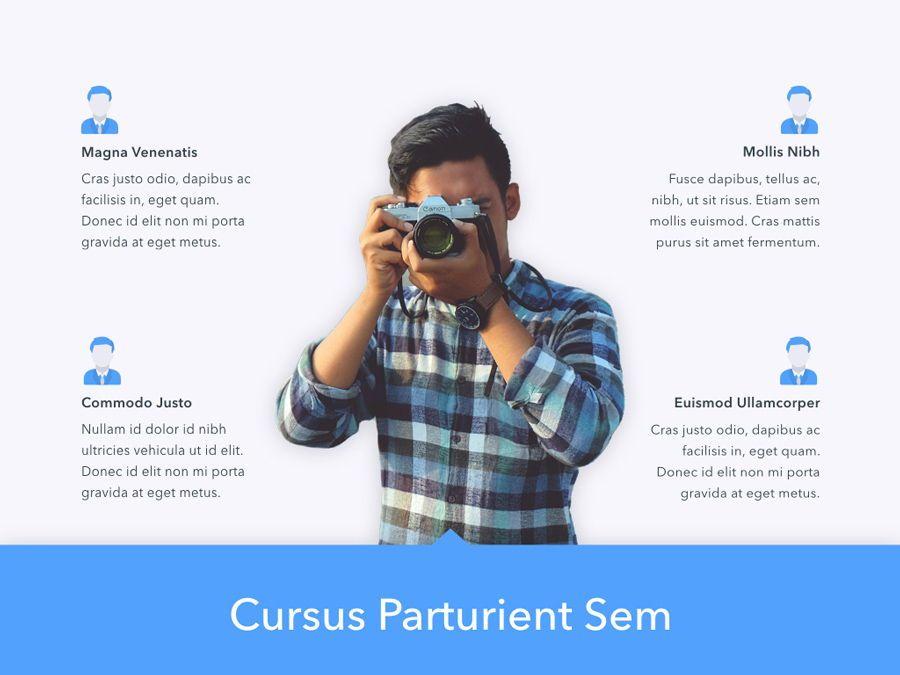 Refreshing Blue PowerPoint Template, Slide 4, 05798, Presentation Templates — PoweredTemplate.com