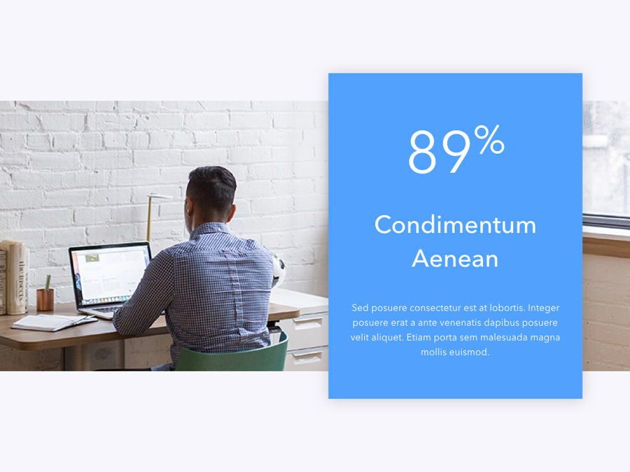 Refreshing Blue PowerPoint Template, Slide 5, 05798, Presentation Templates — PoweredTemplate.com