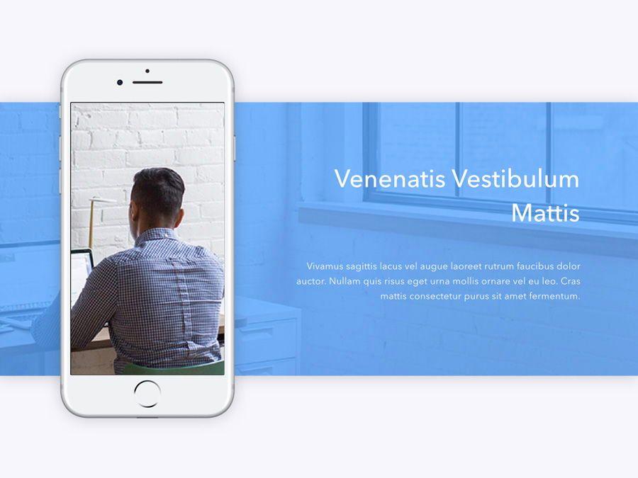 Refreshing Blue PowerPoint Template, Slide 8, 05798, Presentation Templates — PoweredTemplate.com