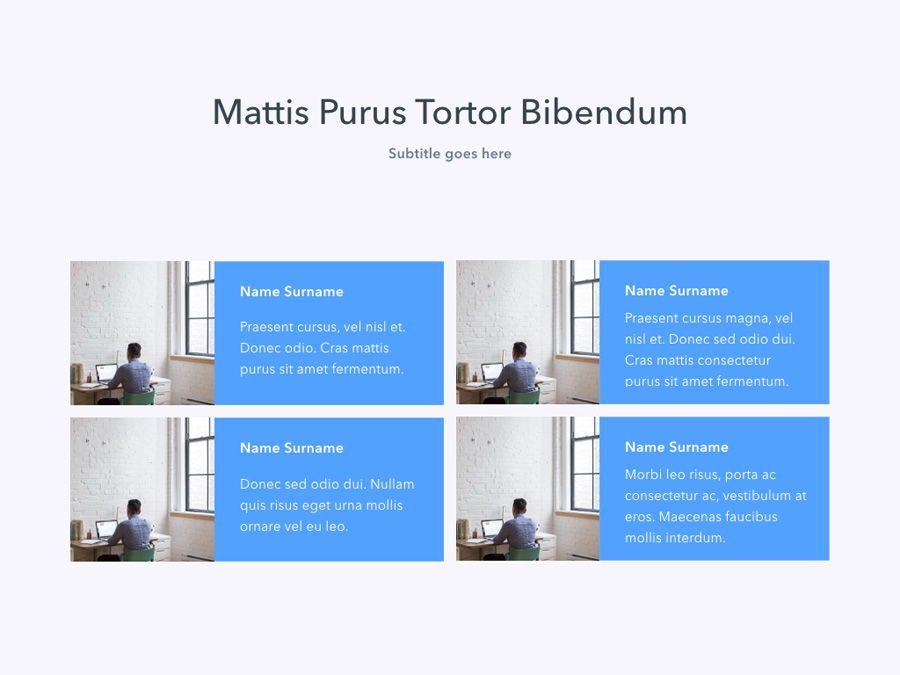 Refreshing Blue PowerPoint Template, Slide 9, 05798, Presentation Templates — PoweredTemplate.com