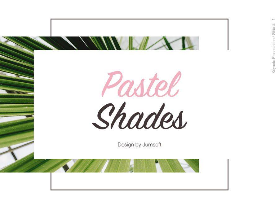 Pastel Shades Keynote Template, Slide 2, 05803, Presentation Templates — PoweredTemplate.com