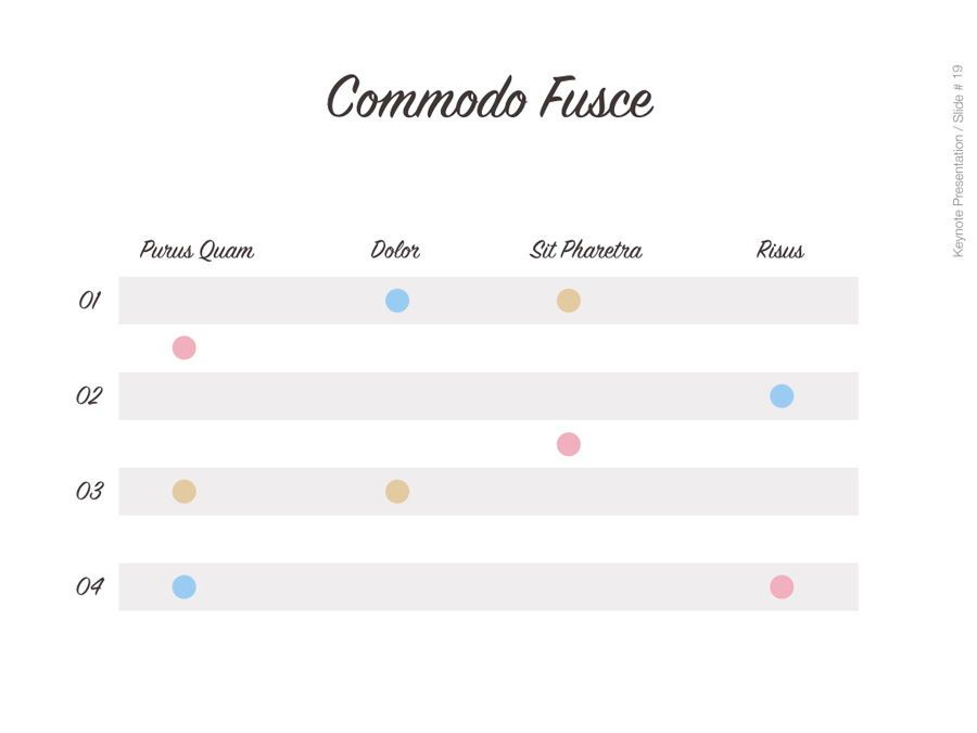 Pastel Shades Keynote Template, Slide 20, 05803, Presentation Templates — PoweredTemplate.com