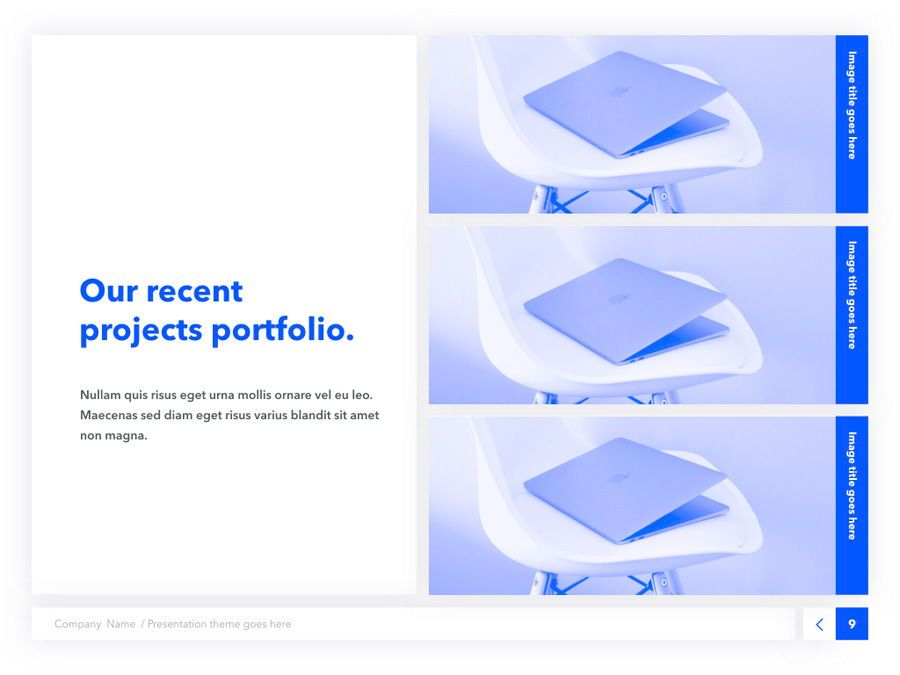 Prime Blue Keynote Template, Slide 10, 05804, Presentation Templates — PoweredTemplate.com
