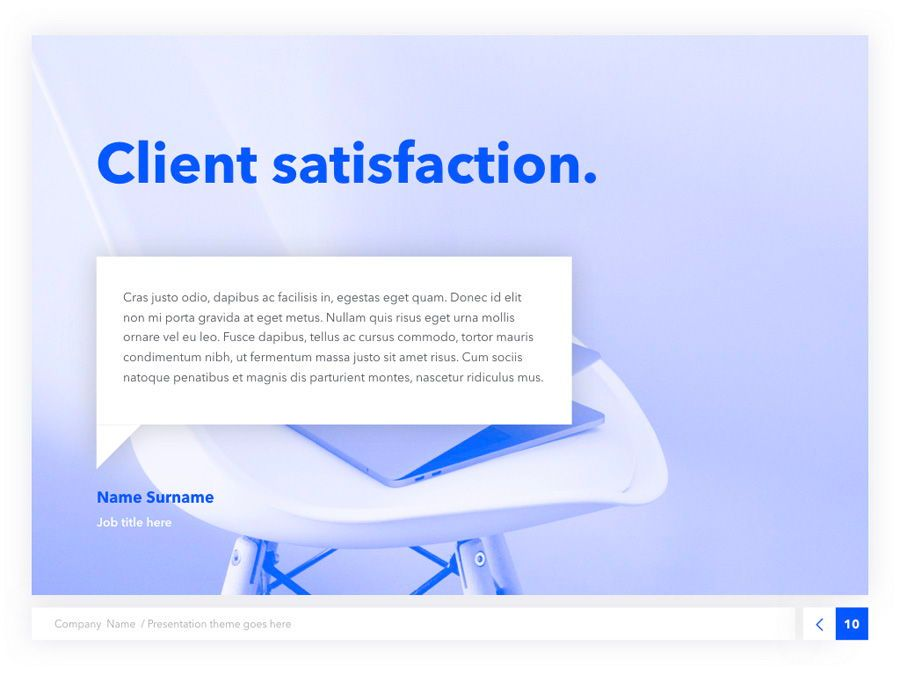 Prime Blue Keynote Template, Slide 11, 05804, Presentation Templates — PoweredTemplate.com