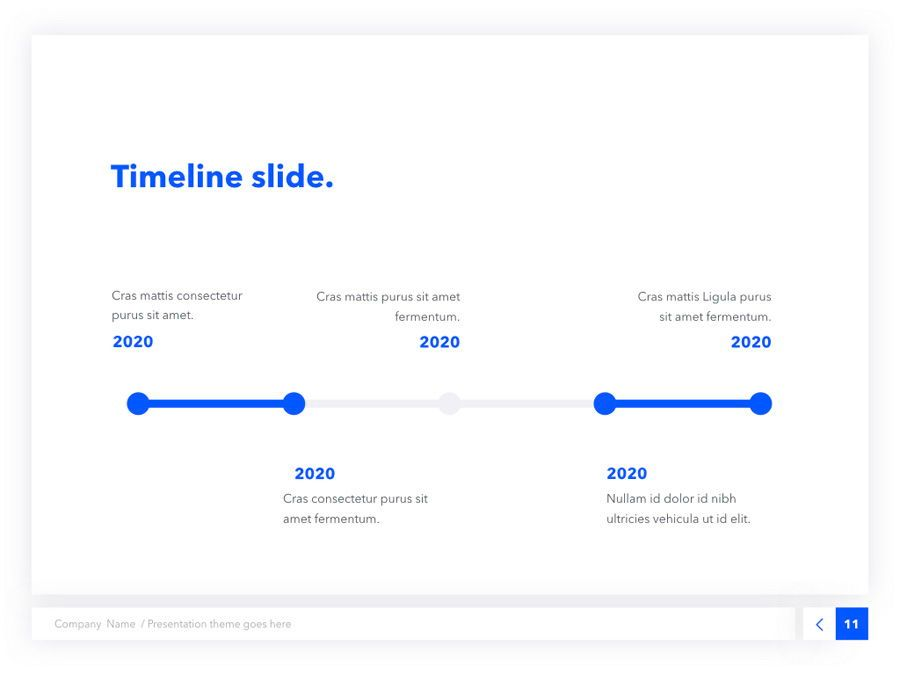 Prime Blue Keynote Template, Slide 12, 05804, Presentation Templates — PoweredTemplate.com