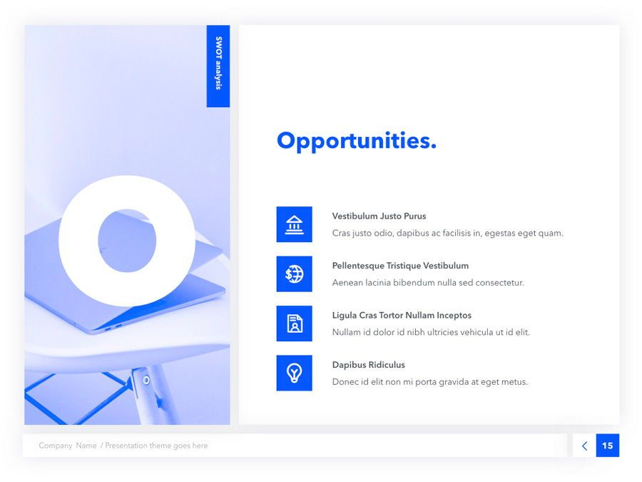 Prime Blue Keynote Template, Slide 16, 05804, Presentation Templates — PoweredTemplate.com