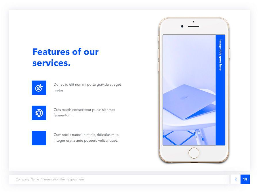 Prime Blue Keynote Template, Slide 20, 05804, Presentation Templates — PoweredTemplate.com