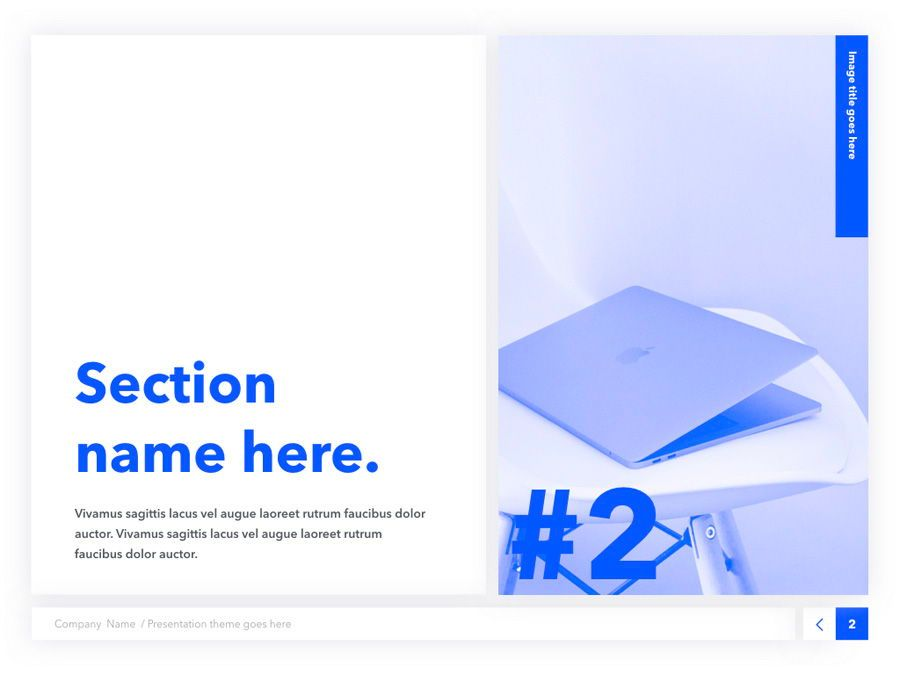 Prime Blue Keynote Template, Slide 3, 05804, Presentation Templates — PoweredTemplate.com