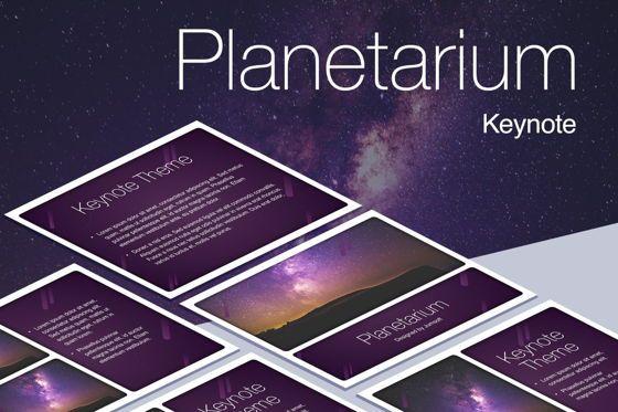 Presentation Templates: Planetarium Keynote Template #05805