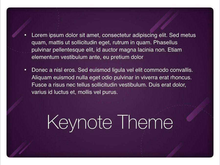 Planetarium Keynote Template, Slide 11, 05805, Presentation Templates — PoweredTemplate.com