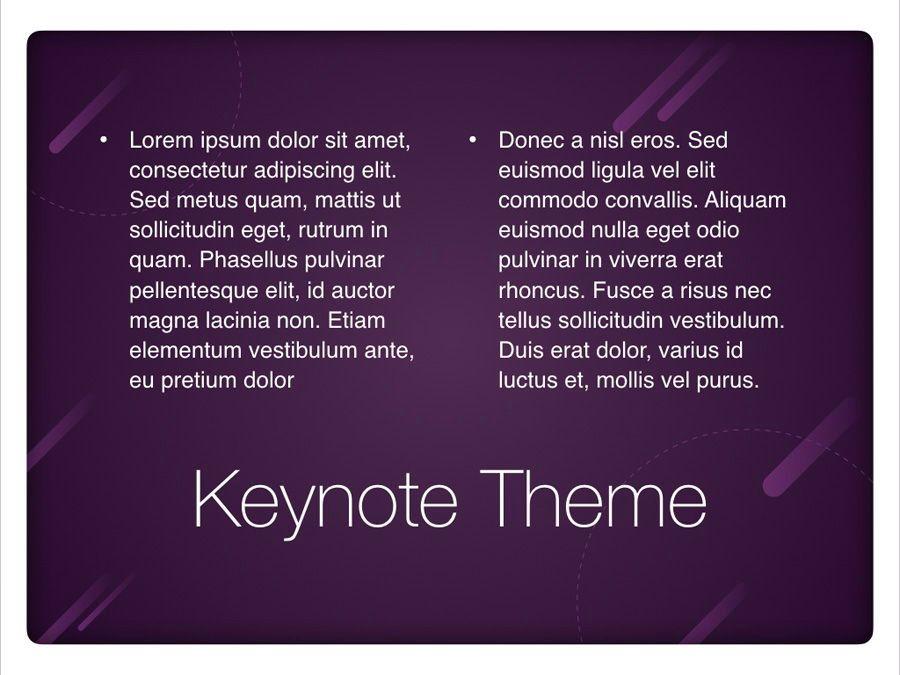 Planetarium Keynote Template, Slide 12, 05805, Presentation Templates — PoweredTemplate.com