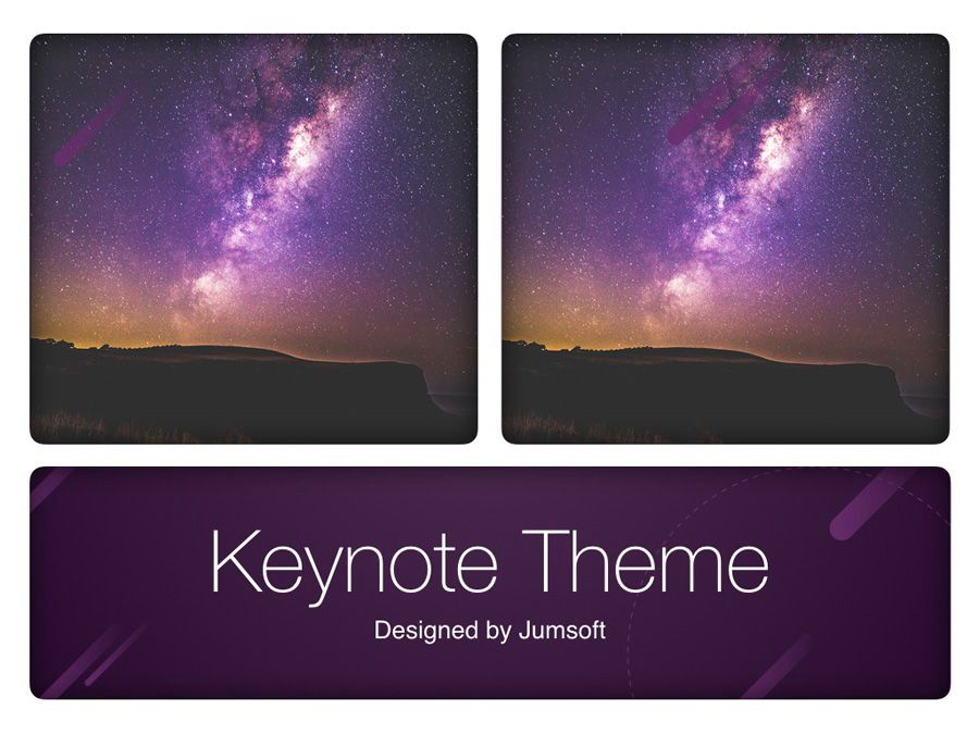 Planetarium Keynote Template, Slide 14, 05805, Presentation Templates — PoweredTemplate.com