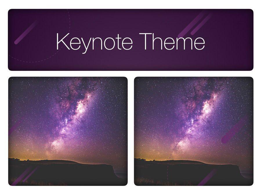 Planetarium Keynote Template, Slide 16, 05805, Presentation Templates — PoweredTemplate.com