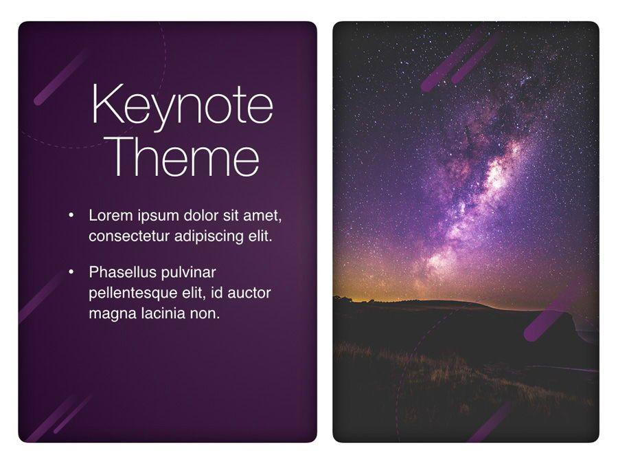 Planetarium Keynote Template, Slide 17, 05805, Presentation Templates — PoweredTemplate.com