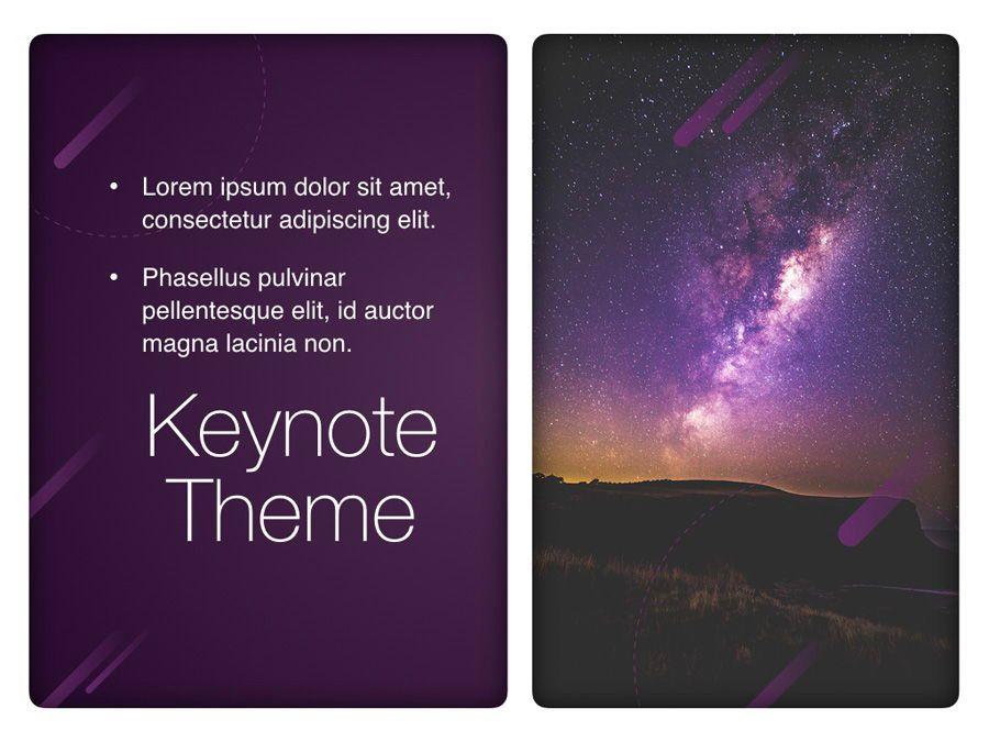 Planetarium Keynote Template, Slide 19, 05805, Presentation Templates — PoweredTemplate.com
