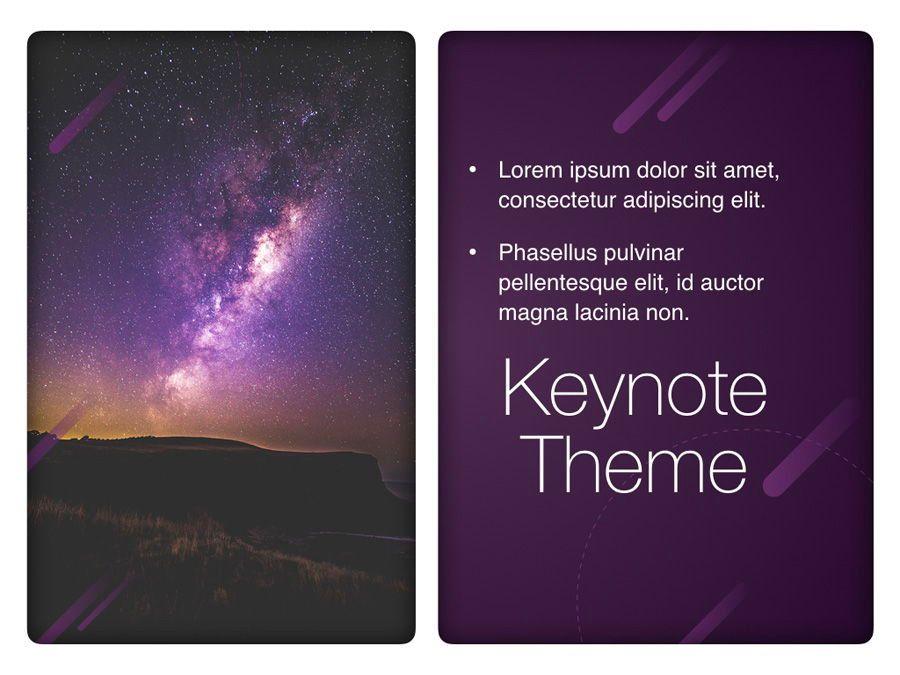 Planetarium Keynote Template, Slide 20, 05805, Presentation Templates — PoweredTemplate.com
