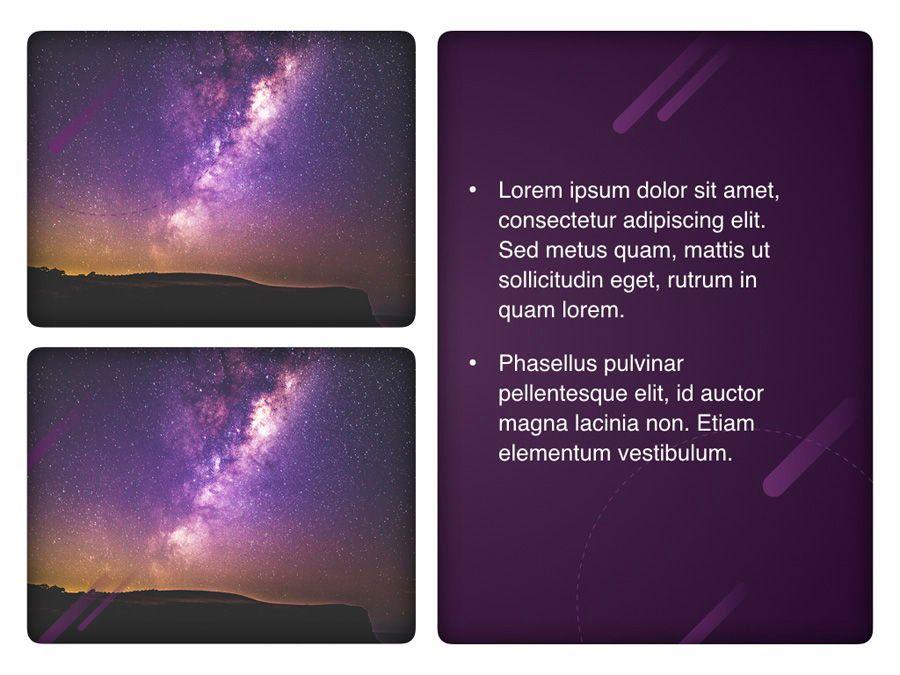 Planetarium Keynote Template, Slide 24, 05805, Presentation Templates — PoweredTemplate.com