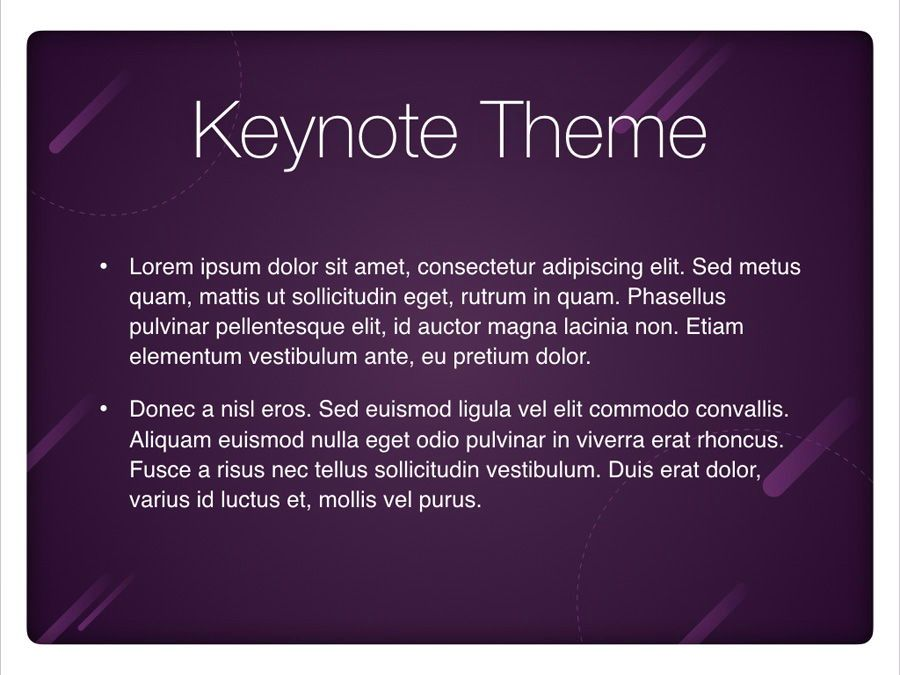 Planetarium Keynote Template, Slide 3, 05805, Presentation Templates — PoweredTemplate.com