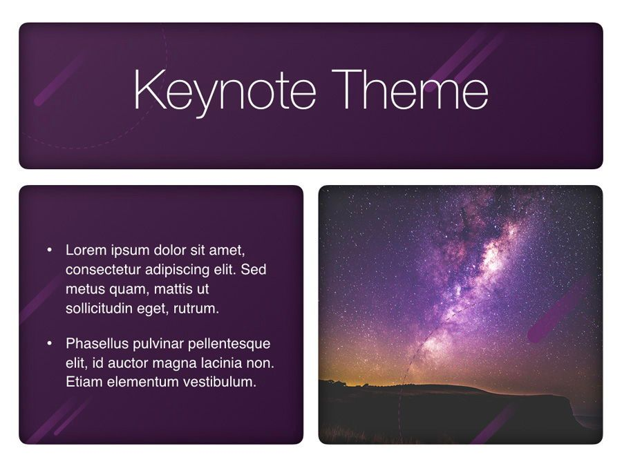 Planetarium Keynote Template, Slide 30, 05805, Presentation Templates — PoweredTemplate.com