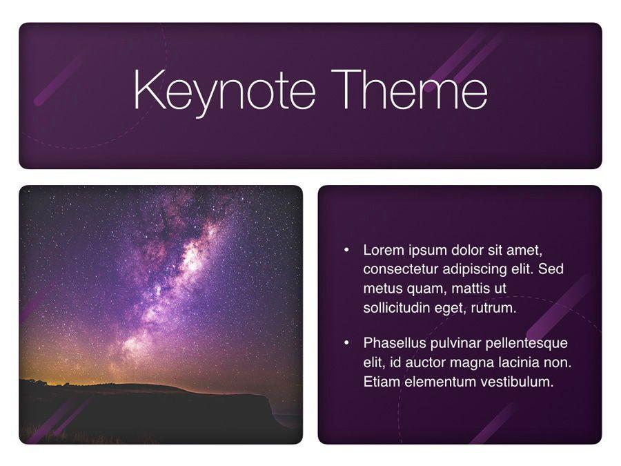 Planetarium Keynote Template, Slide 31, 05805, Presentation Templates — PoweredTemplate.com