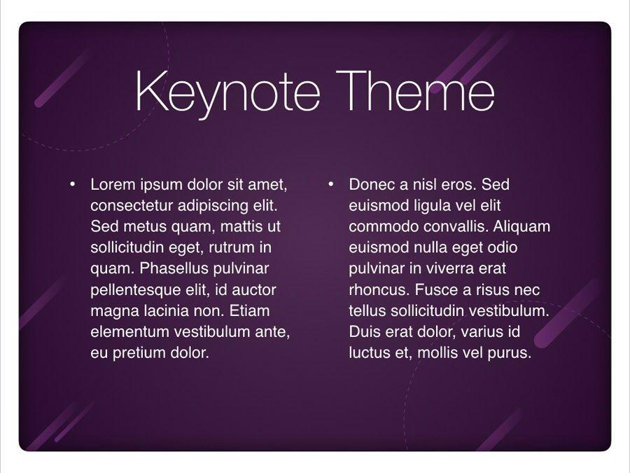 Planetarium Keynote Template, Slide 4, 05805, Presentation Templates — PoweredTemplate.com