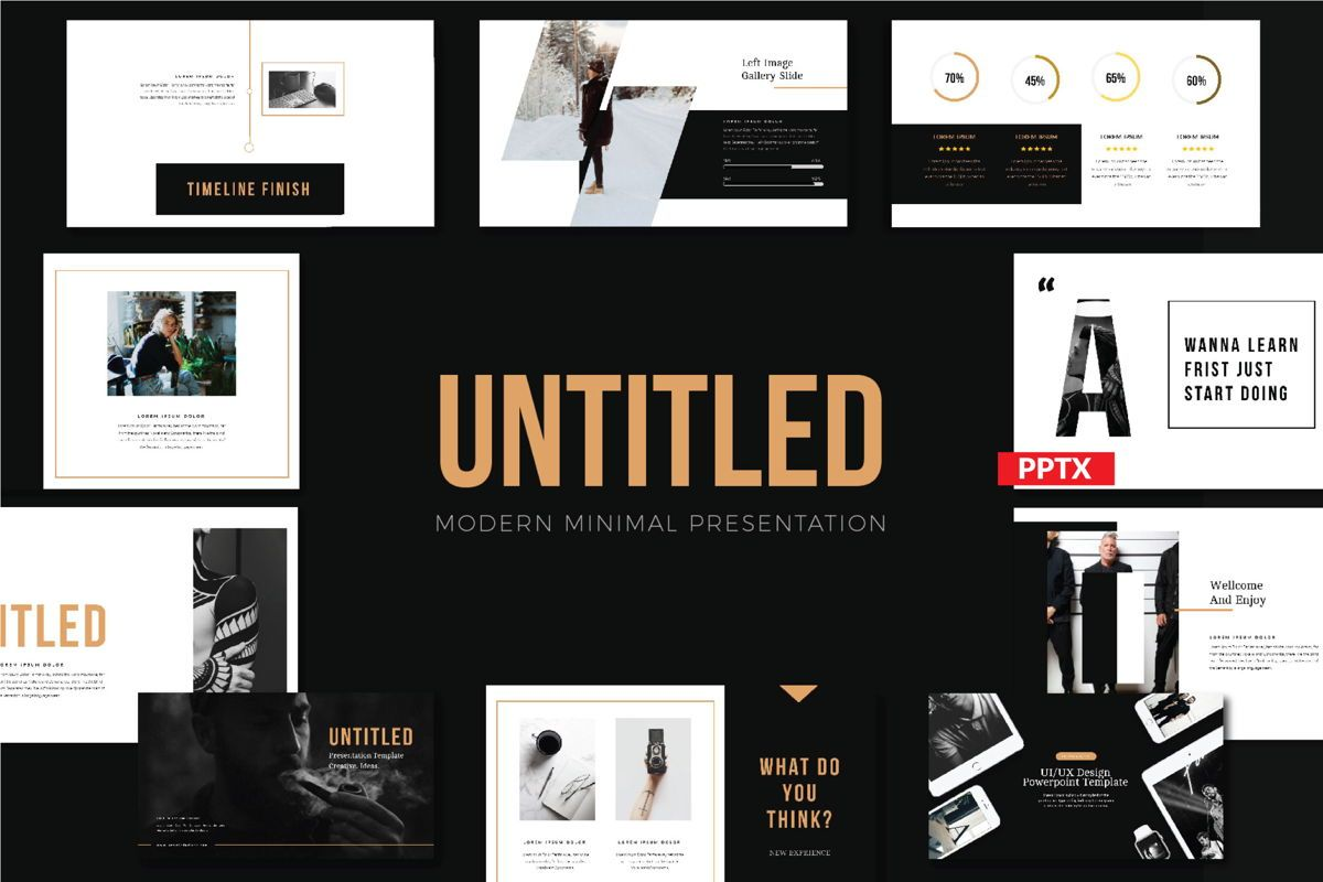 Untitled Business Presentation Template, 05806, Presentation Templates — PoweredTemplate.com