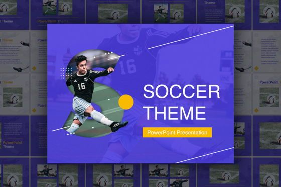 Presentation Templates: Soccer PowerPoint Template #05809