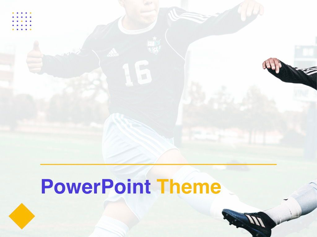Soccer PowerPoint Template, Slide 10, 05809, Presentation Templates — PoweredTemplate.com