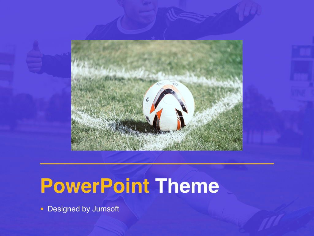 Soccer PowerPoint Template, Slide 13, 05809, Presentation Templates — PoweredTemplate.com