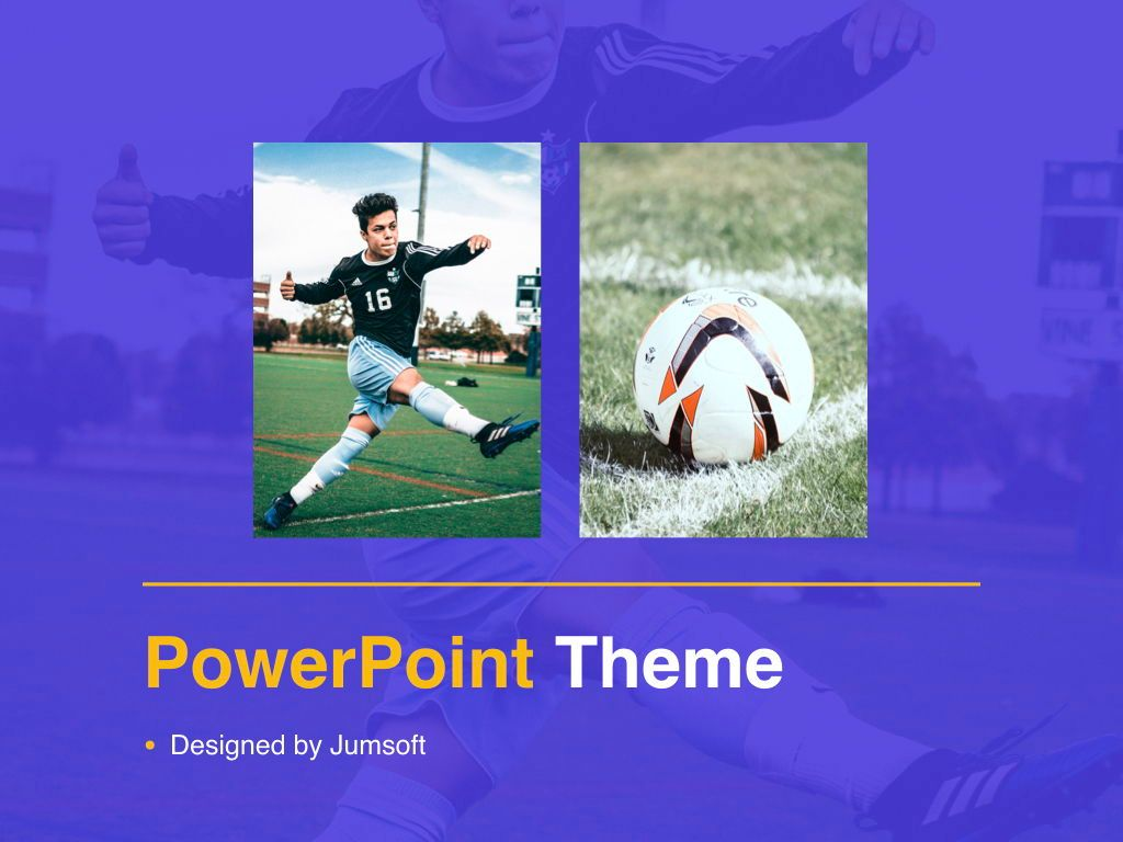 Soccer PowerPoint Template, Slide 14, 05809, Presentation Templates — PoweredTemplate.com