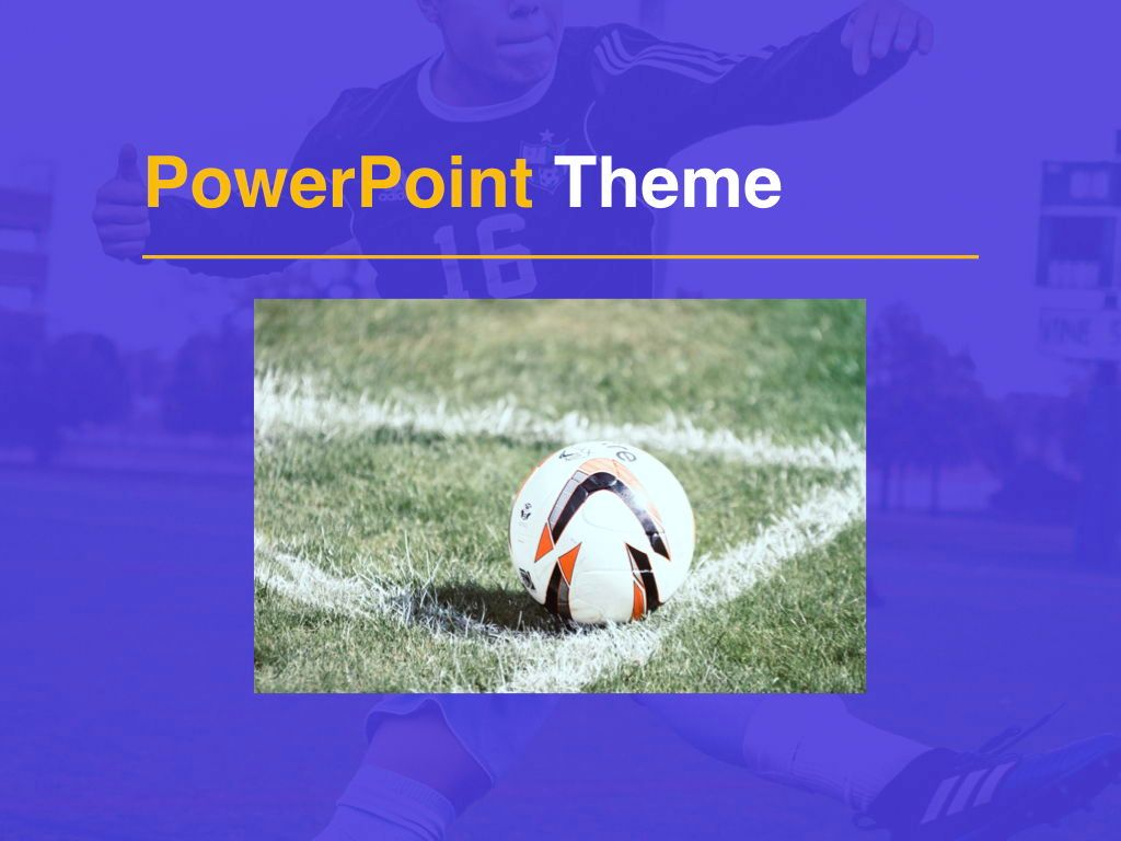 Soccer PowerPoint Template, Slide 15, 05809, Presentation Templates — PoweredTemplate.com
