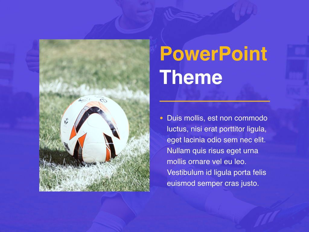 Soccer PowerPoint Template, Slide 18, 05809, Presentation Templates — PoweredTemplate.com
