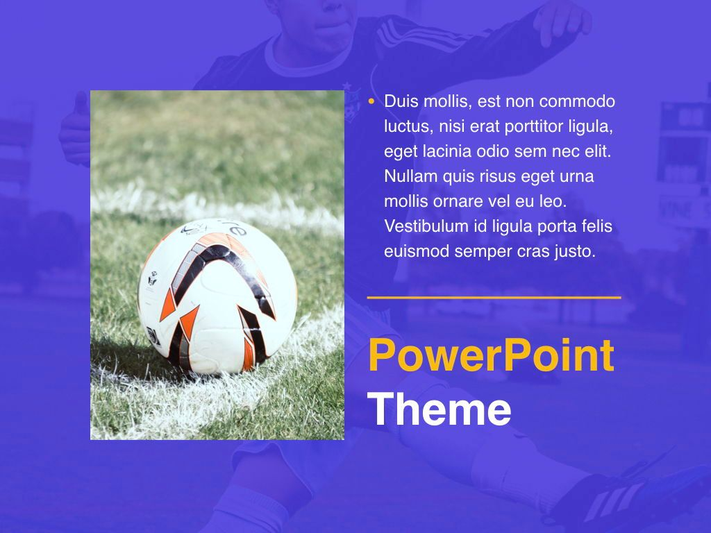 Soccer PowerPoint Template, Slide 20, 05809, Presentation Templates — PoweredTemplate.com