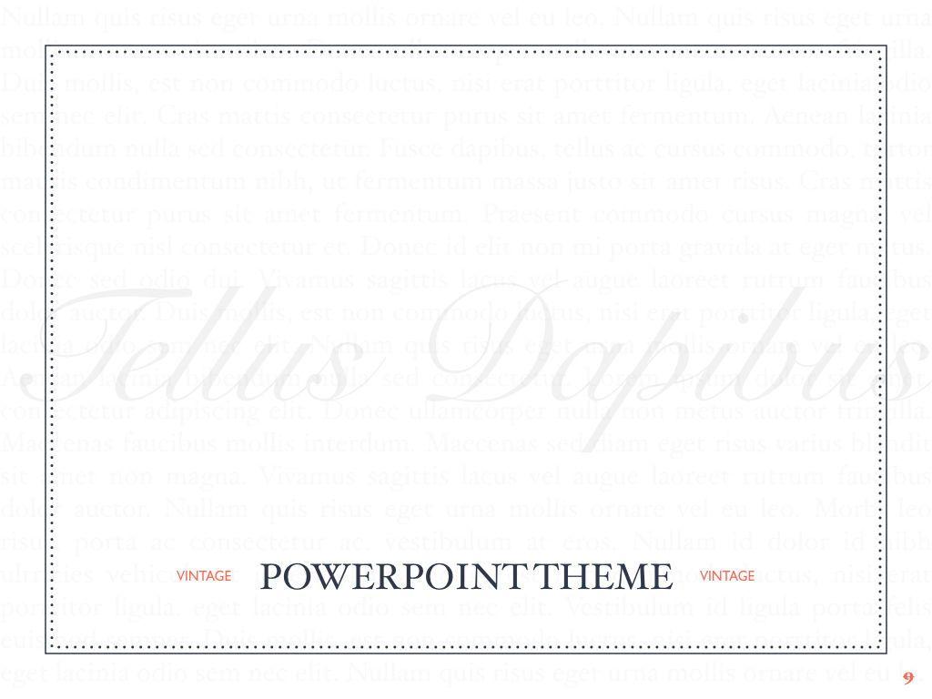 Vintage Album PowerPoint Template, Slide 10, 05810, Presentation Templates — PoweredTemplate.com