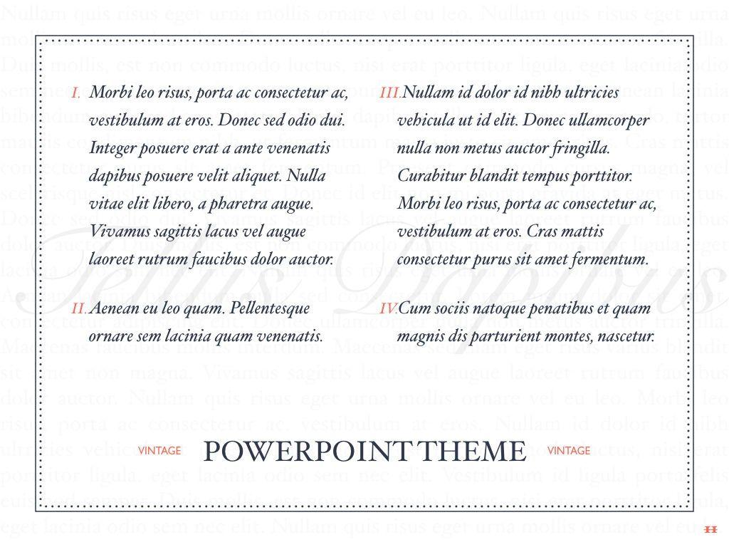 Vintage Album PowerPoint Template, Slide 12, 05810, Presentation Templates — PoweredTemplate.com