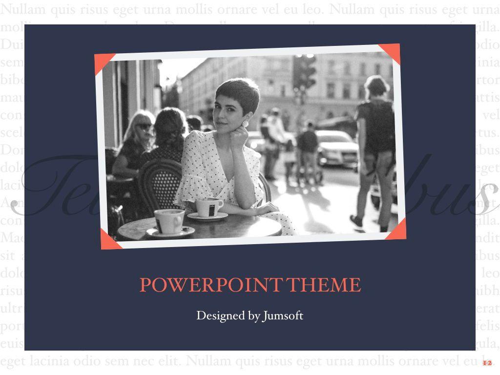 Vintage Album PowerPoint Template, Slide 13, 05810, Presentation Templates — PoweredTemplate.com