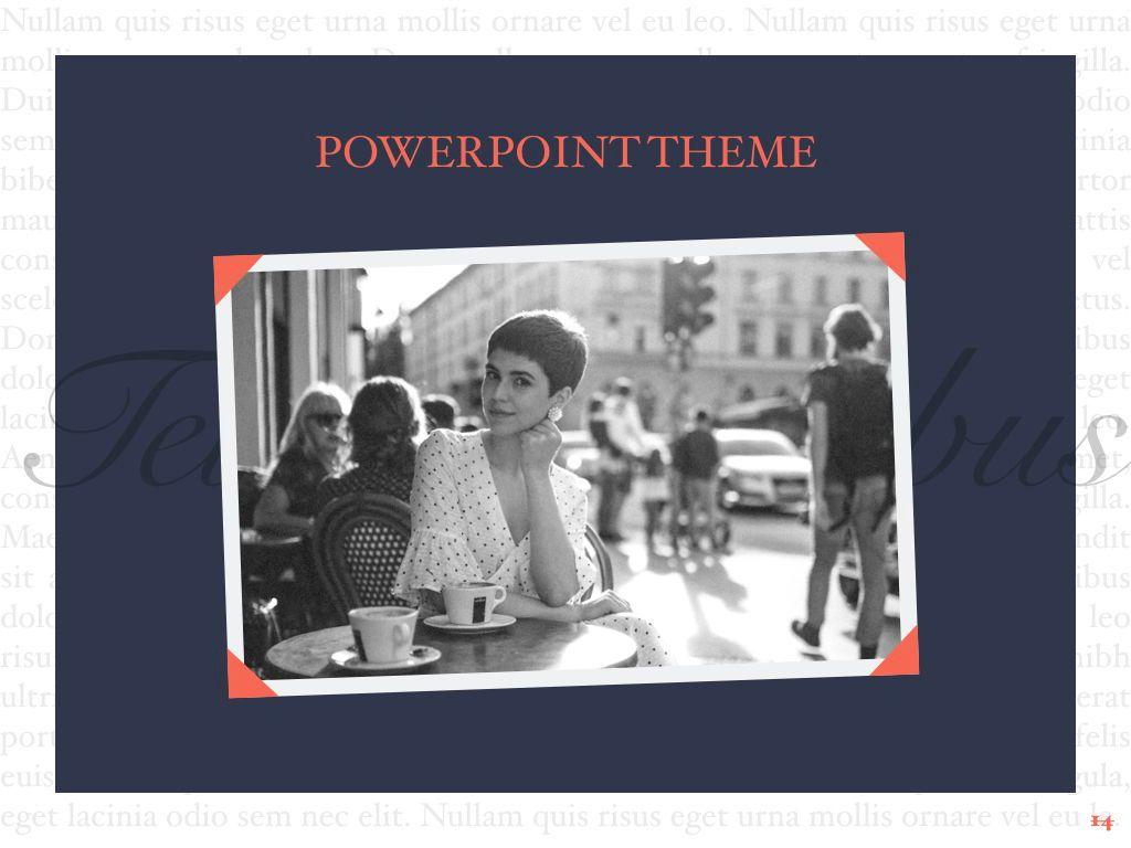 Vintage Album PowerPoint Template, Slide 15, 05810, Presentation Templates — PoweredTemplate.com