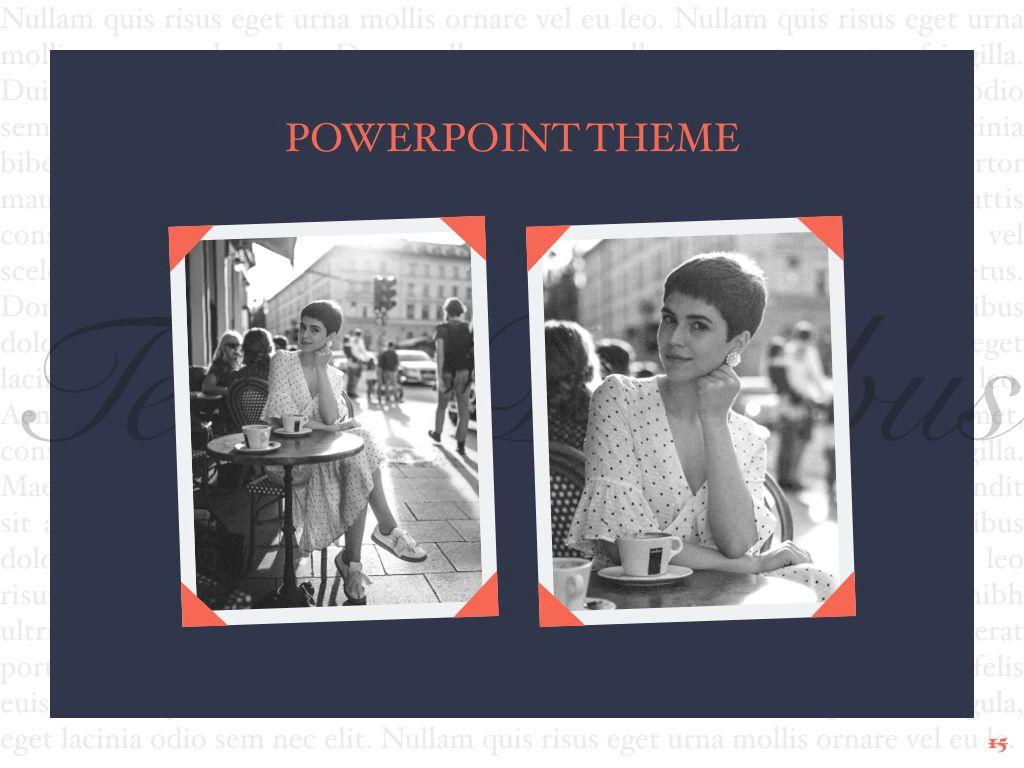 Vintage Album PowerPoint Template, Slide 16, 05810, Presentation Templates — PoweredTemplate.com