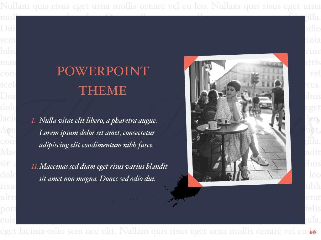 Vintage Album PowerPoint Template, Slide 17, 05810, Presentation Templates — PoweredTemplate.com